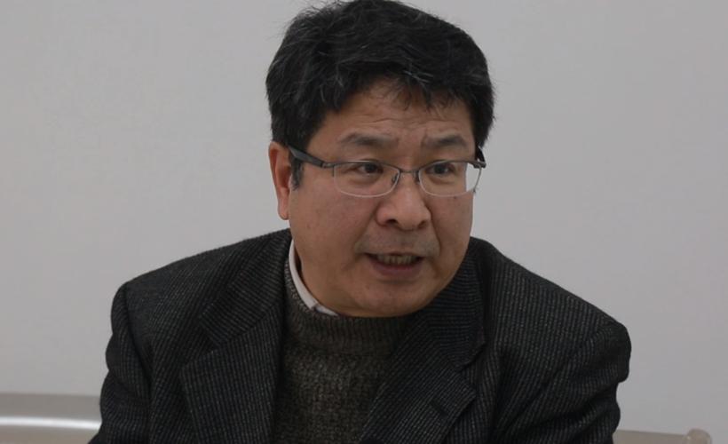 市政协委员黄大斌接受成都全搜索新闻网采访