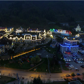 成都第三届天府古镇艺术节在彭州白鹿镇精彩闭幕
